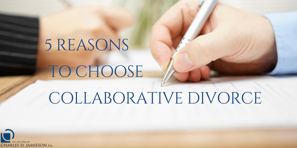 Reasons to Choose Collaborative Divorce