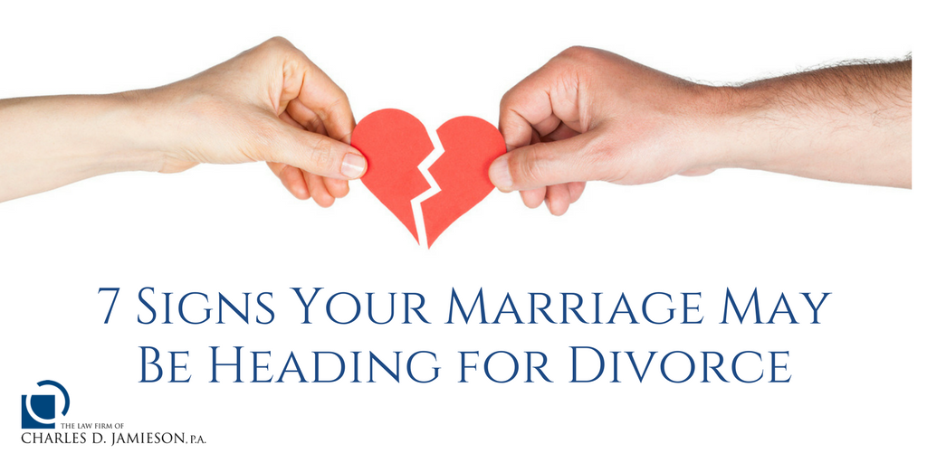 Signs Your Marriage May Be Heading for Divorce
