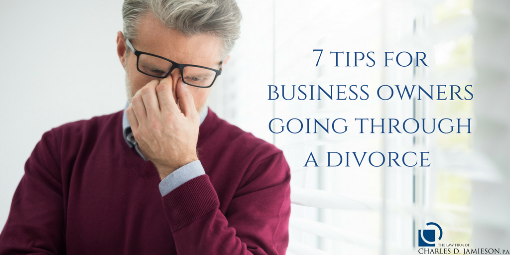 business owners going through a divorce