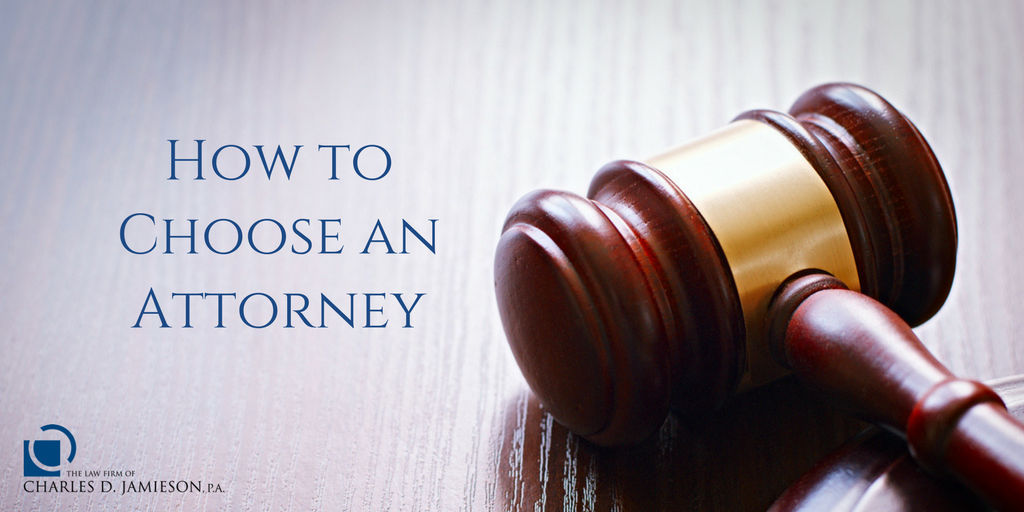 How to Choose an Attorney