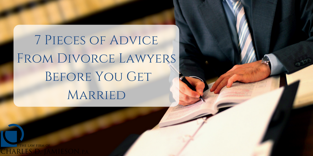 advice from divorce lawyers